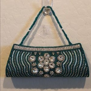 Handbags - Jeweled & Beaded Clutch